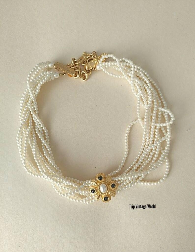 Fashion Jewelry Jewelry & Watches Talbots Silvertone Multi-strand Rose Quartz Round Beads Necklace