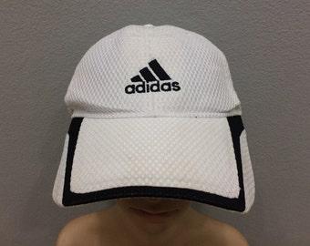 d8a27b362bc Vtg Adidas Cap Running Style Activewear Streetwear size 57cm-60cm on tag