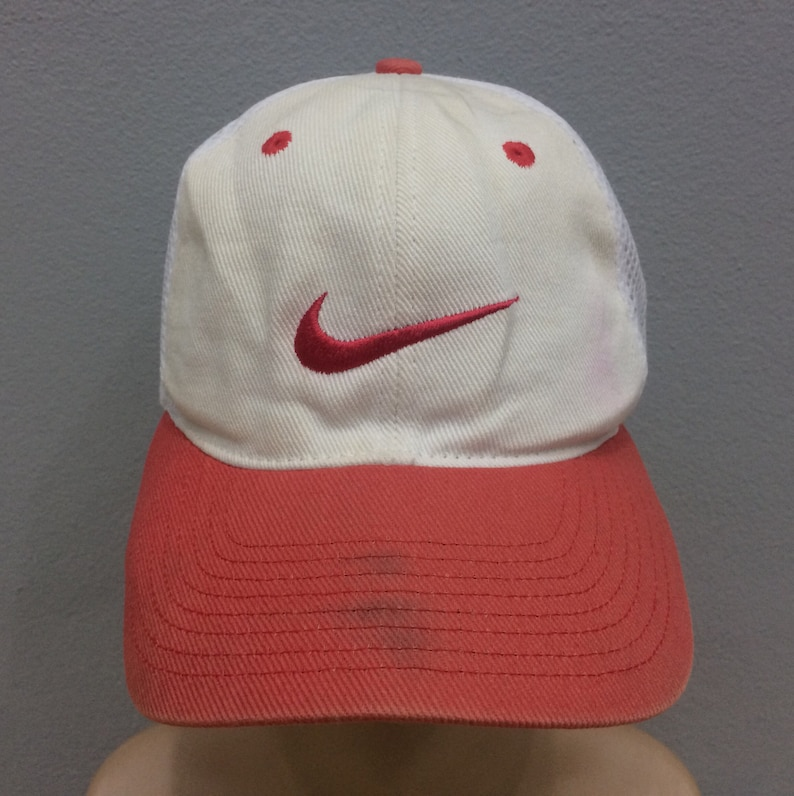 8f98cba8 Vintage Nike Cap Hat Snapback Free Size   Etsy