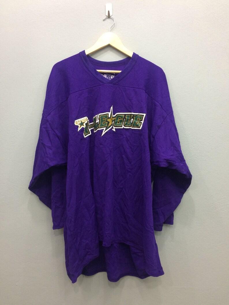 cheap for discount e04be cd962 Dallas stars i-league Hockey Ice Jersey Big Size by Bakka Sports