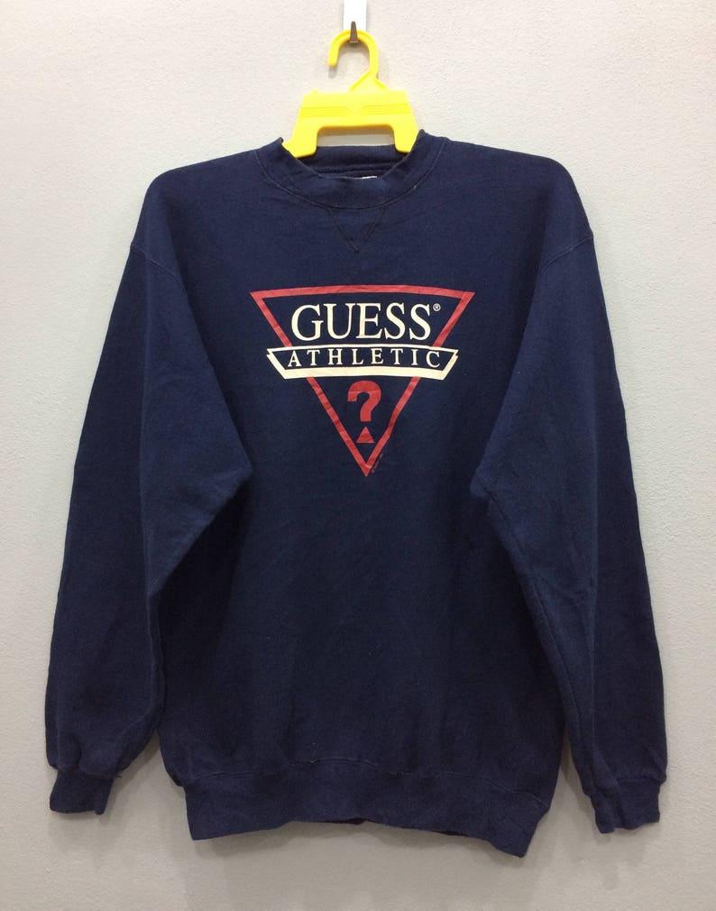 0375adef0 1995 Guess Athletic Sweatshirt Crewneck Jumper Pullover Big | Etsy