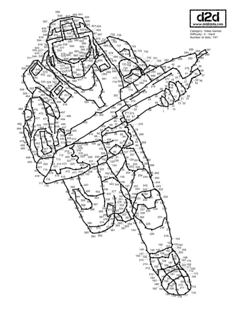 Video Game Dot to Dots image 0