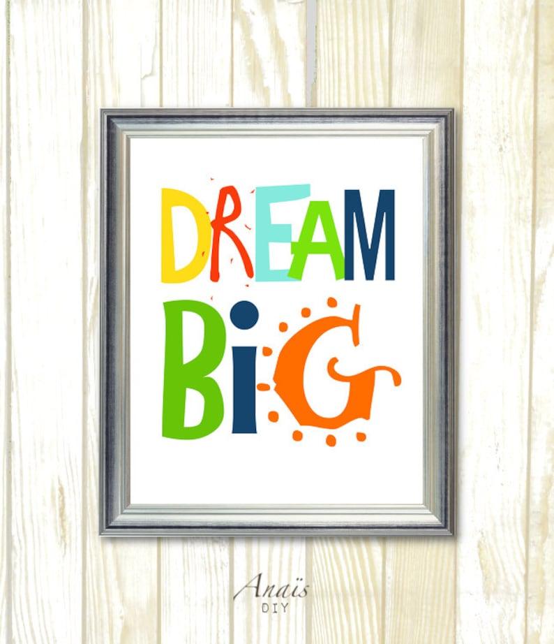 Rêver dart mural de grande chambre de bébé décoration   Etsy