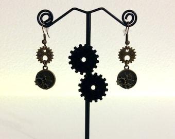 Little gears clock