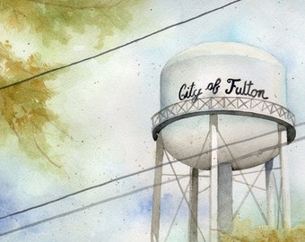 City of Fulton Water Tower