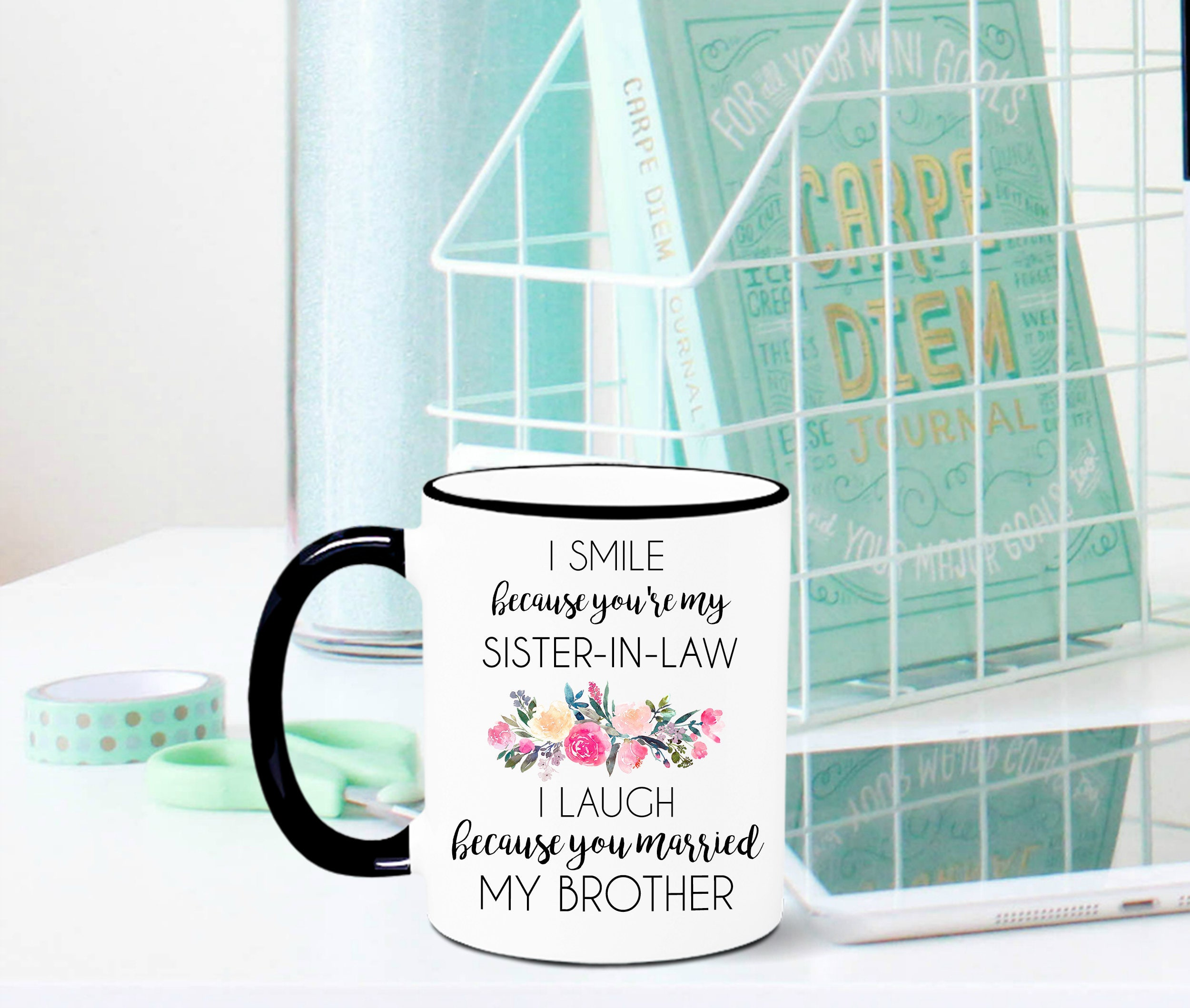 Sister In Law Mug Sister In Law Gift Sister In Law Mug Etsy
