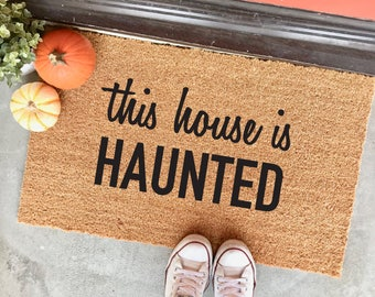 HALLOWEEN FALL DOORMATS