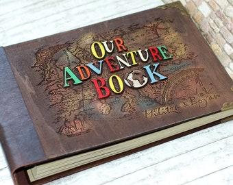 Livre du film, de livre de Ellie, notre livre d'aventure, mon aventure livre, Album Photo mariage, album anniversaire, cadeau d'anniversaire, voyage