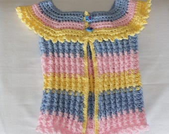 Multicolored baby jacket