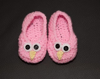slippers - shoes OWL baby 6 months