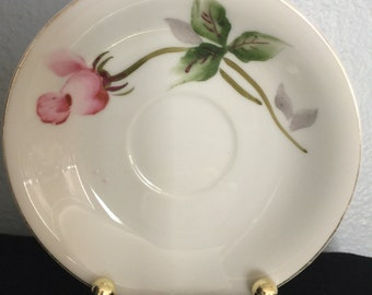 Hand painted saucer