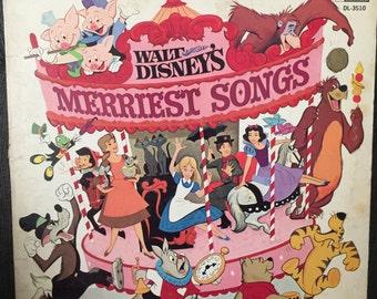 Walt Disney Merriest songs album