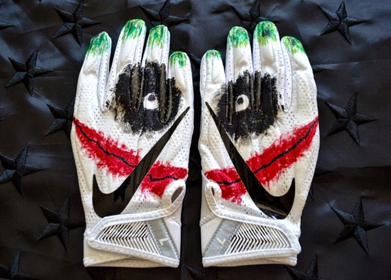Joker Nike Football Gloves Etsy
