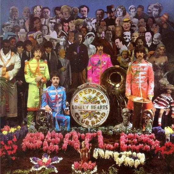 Beatles Ultra Rare Alternent Le Sergent Pepper Couverture Lp Etsy