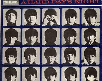 A Hard Days Night Beatles Rare Signed Replica Cover LP Album Lennon McCartney 1964