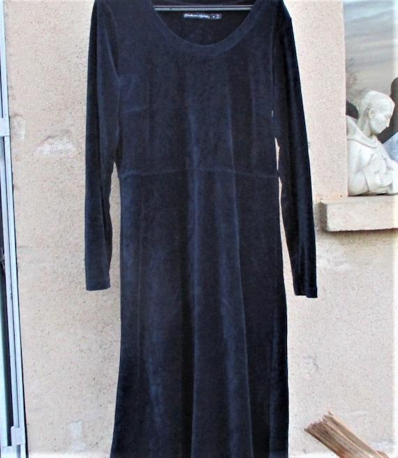 Vintage Gudrun Sjoden Dress, velvet dresses, desig