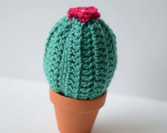 Large Crocheted Cactus