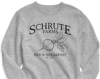 The Office Sweatshirt, Schrute Farms Sweatshirt, Schrute Farms Shirt, The Office Shirt, Sweatshirt, Michael Scott, Jim Halpert
