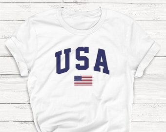 f5a2b8479 Usa T-SHIRT, Fourth of July T-SHIRT, America Shirt, Independence, Retro,  Vintage, Patriotic, Alcohol, Summer Tank, BBQ, Graphic Tee
