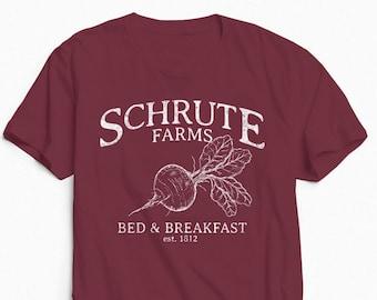 Schrute Farms Shirt. Schrute Farms. The Office. Dwight Schrute. Sweatshirt. Michael Scott. Jim Halpert.