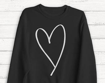 I Love Heart Niger Black Sweatshirt
