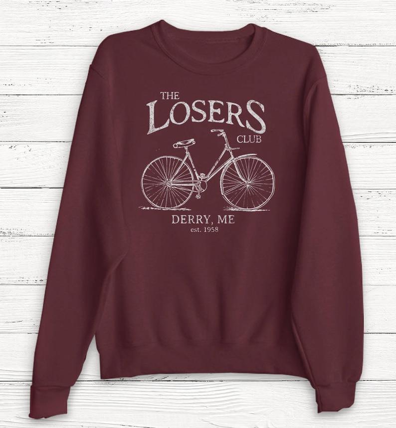 The Losers Club Sweatshirt  Sweater  Sweatshirt  Shirt  image 0
