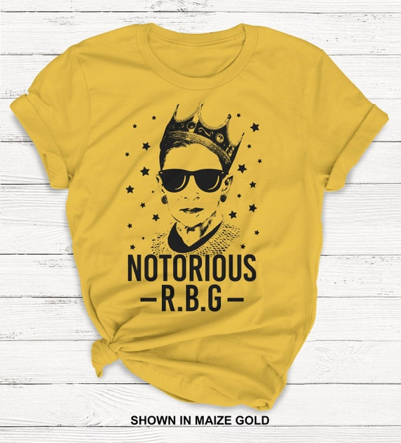 Notorious RBG Shirt - Ruth Bader Ginsburg - Feminism - Protest - Feminist - Girl Power - Women Power - Graphic Tees - Equality