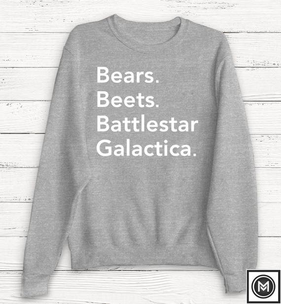 The Office Dwight Schrute The Office Sweater Bears Beets Etsy