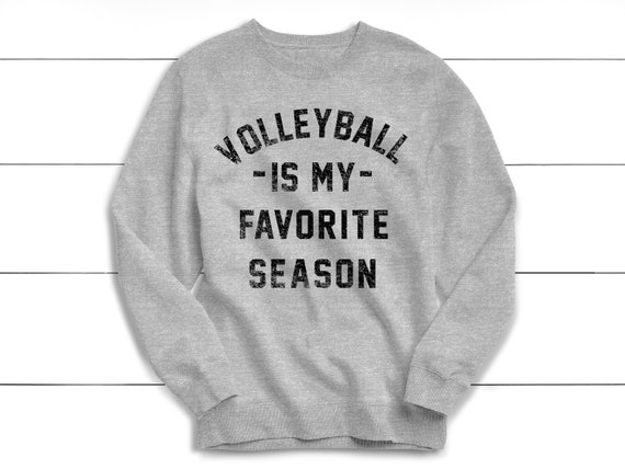 Volleyball is My Favorite Season Raglan Sweatshirt