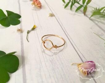 Karma, anello oro, anello karma, gioiello unico, anello minimalista, minimal, lavorato a mano, ottone, fatto a mano, made in Italy