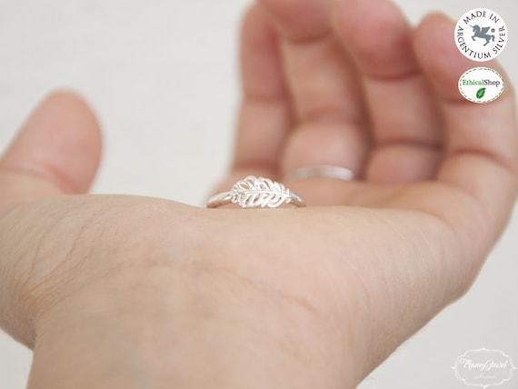 Feather, boho jewelry, feather ring, handmade ring, custom ring, made in Italy, birthday gift, handmade jewelry, responsible jewelry, vegan