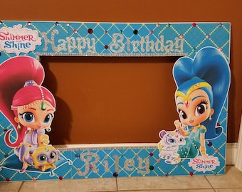 Shimmer And Shine Birthday Decorations Etsy