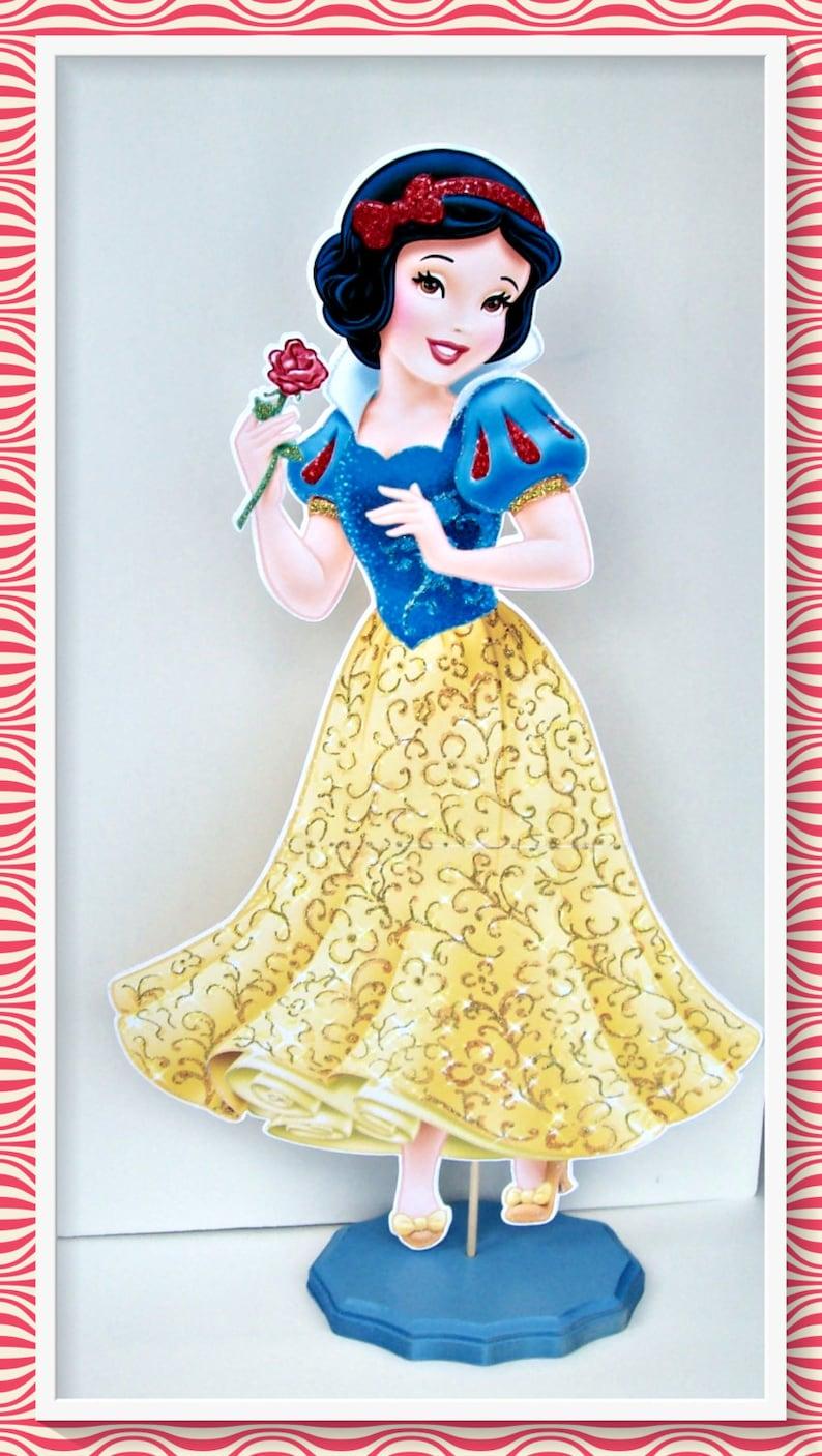 Snow White Centerpiece