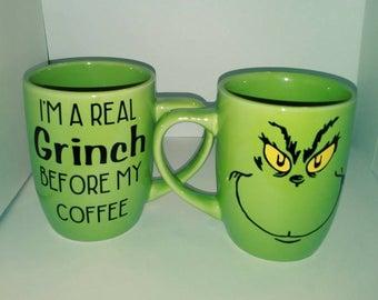 Grinch Coffee Mug
