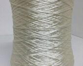 100 Milk protein yarn on cone, hand machine knitting yarn, per cone