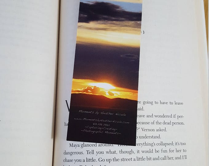 Mediterranean Sunrise Bookmark