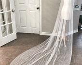 Pearl bridal veil, pearls...