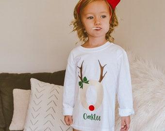 Christmas Shirt for Kids | Holiday Name Shirt | Personalized Christmas Shirt | Baby Boy Christmas | Baby Girl Christmas | Christmas Shirt