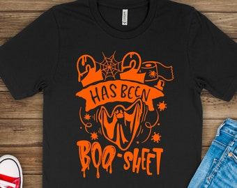 Quarantine Halloween Shirt, 2020 Has Been Boo Sheet Shirt, Ghost w Mask, Adult Halloween Shirt, Kids Halloween Shirt, Funny Halloween Shirt
