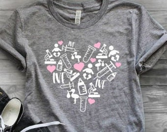 Mom shirts | Infertility Shirt Shirt | IVF Mom Shirt | Mothers Day Gift | Gifts for Mom | Infertility Awareness Shirt | IVF Maternity Shirt