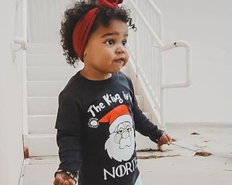 Christmas Shirt for Kids | Kids Christmas Shirt | Funny Christmas Shirt | GOT Christmas Shirt | King in the North | Santa Shirt |