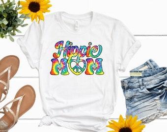 Mothers Day Gift | Hippie Mom Shirt | Mama Shirt | Gifts for Mom | Tie Dye Mom Shirt | Mama Life Shirt | Hippie Mama | Crunchy Mama Shirt