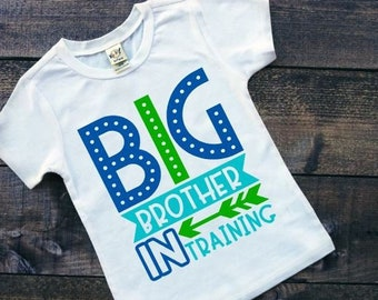 Big Brother Shirt | Pregnancy Announcement Shirt | Big Brother in Training | Big Brother Coming Soon | Sibling Announcement Shirt | Big Brot