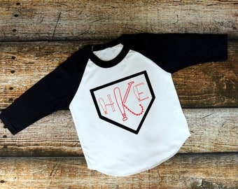 Baseball shirt | Baseball Raglan | Baseball Monogram | Womens Baseball Shirt | Kids Baseball Shirt | Baseball Mom | Petsonalized Baseball