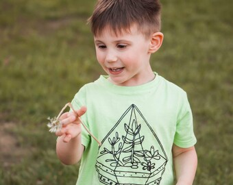 Kids Shirt | Cultivate Kindness | Succulents | Kindness Shirt | Be Kind | Boys Shirt | Girls Shirt |