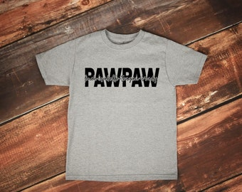 Father's Day Gift | Grandpa Shirts | Personalized Grandpa Shirt | Gifts for Dad | Grandkids Name Shirt | Custom Dad Shirt | PawPaw shirt |