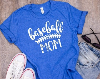 Baseball shirt | Baseball Mom Shirt | Baseball Shirts for Women | Game Day Shirt |  Vintage Tee | Baseball Grunge Tee | Baseball Mama |