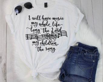 Mom Life Shirt | Mama Shirt | Christian Mom Shirt | Christian Shirt | Mothers Day Shirt | Gifts for Mom | Mothers Day Gift | Hymn Shirt