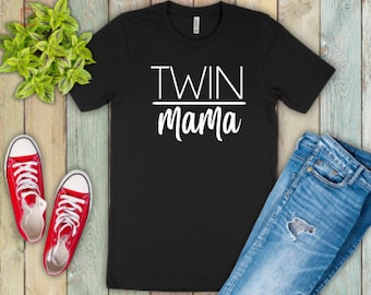 Twin Mom shirts | Motherhood Shirt | Twin Mom Life Shirt | Mothers Day Gift | Gifts for Mom | Double the Trouble | Twin Mama | #twinmom