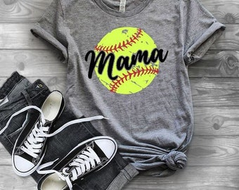 Softball shirts | Softball Mom Shirt | Softball Shirts for Women | Game Day Shirt | Softball Mom | Softball Grunge Tee | Softball Mama | Sof